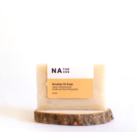 Jabón de Aceite Rosa Mosqueta